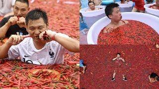 7 Cuộc Thi ĂN 'TÀN BẠO' Nhất | Trung Quốc Chiếm Số Đông