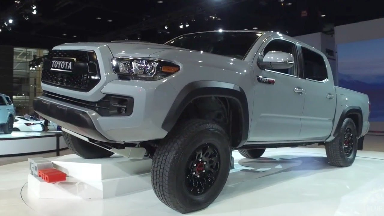 2017 toyota tacoma trd pro 2016 chicago auto show youtube. Black Bedroom Furniture Sets. Home Design Ideas