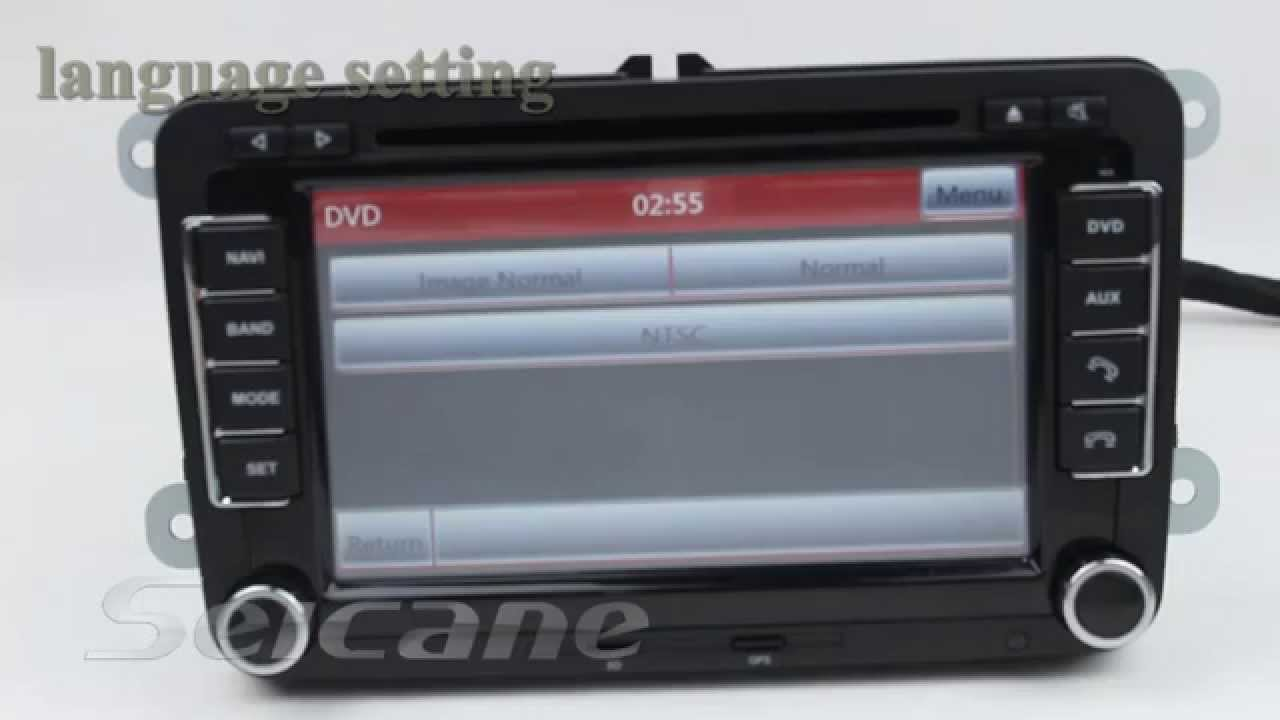 Car radio dvd player gps navigation system for skoda octavia with usb sd youtube