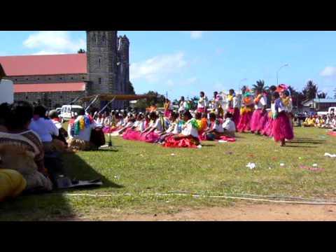 Mata'utu - tanečníci 3 - oslavy Dne teritoria | Wallisian Dancers - The Terriotry Day