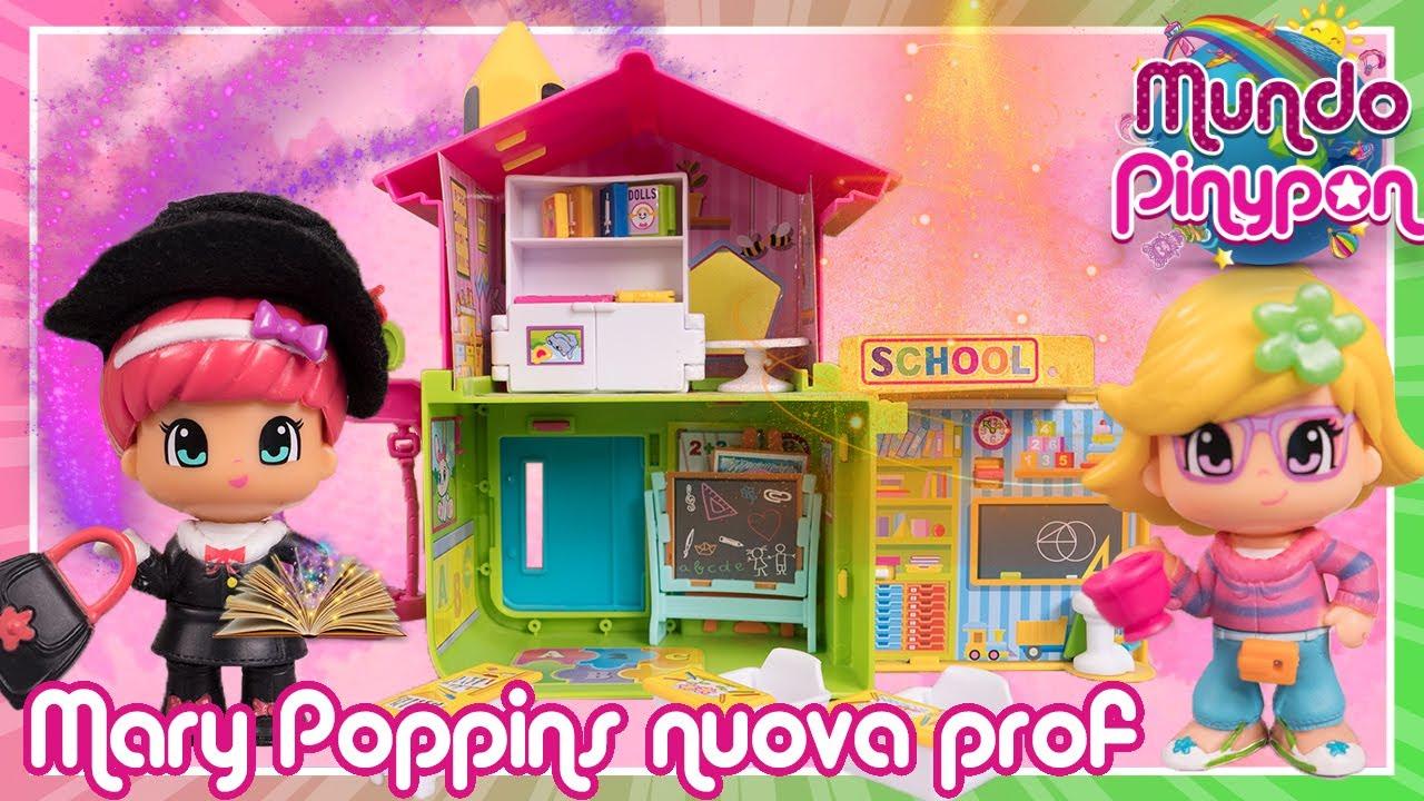 MARY POPPINS è la nuova prof della scuola dei PINYPON ✨💻 Magia nelle lezione online! #IoRestoACasa