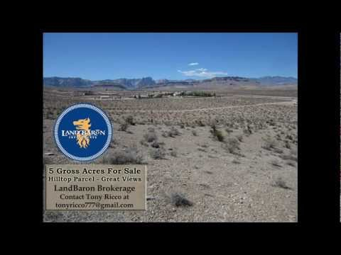 5 Acre Hilltop Parcel For Sale - SW Las Vegas, Nevada