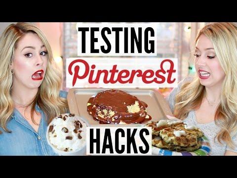 Testing Pinterest Hacks! | HOLIDAY EDITION