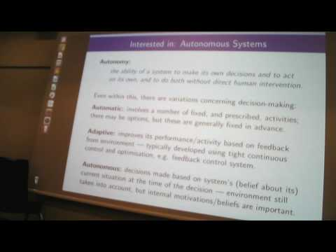ICRA'16 Workshop: Verification of Robots and Autonomous Systems