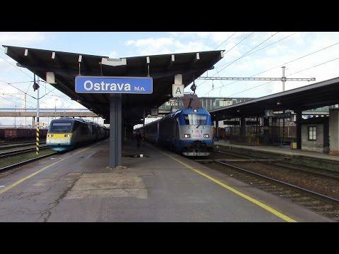 Ostrava hlavní nádraží Hauptbahnhof Ostrau Ostrava Central Station České dráhy