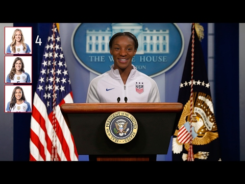 Which U.S. WNT Player Would Make the Best President?