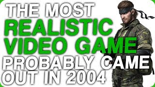 The Most Realistic Video Game Probably Came Out in 2004