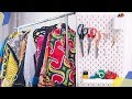 FASHION DESIGN STUDIO TOUR | KIM DAVE