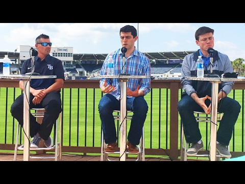 Tampa Bay Rays pre-Spring Training press conference 2017
