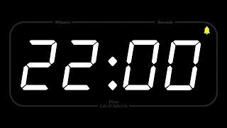 22 MINUTE - TIMER & ALARM - Full HD - COUNTDOWN