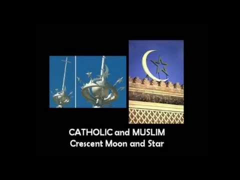 Similarities between Catholicism and Islam illustrated via images