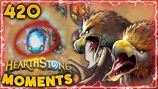Was that a Huge BUG or What..?? | Hearthstone Daily Moments Ep. 420