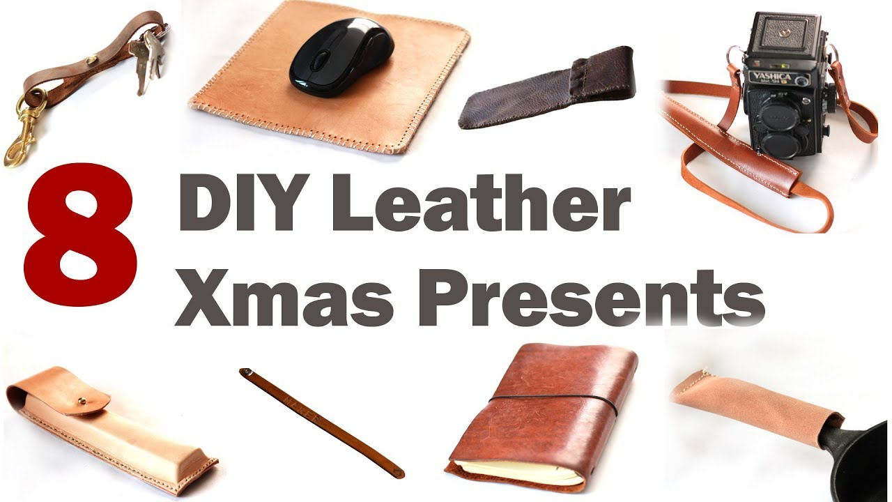 8 Easy DIY Christmas Gifts You Can Make NOW! - YouTube