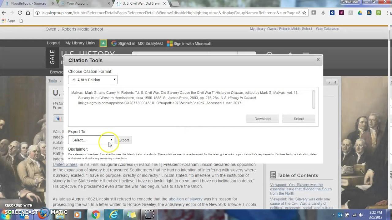 Sites Like EasyBib com   Similar Sites NoodleBibs and EasyBib  cite
