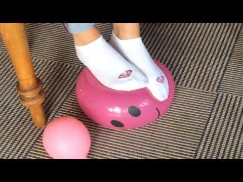 Luftballon-Qual | Kreative Fußerotik von ALEXANDRA FOOTAGE thumbnail