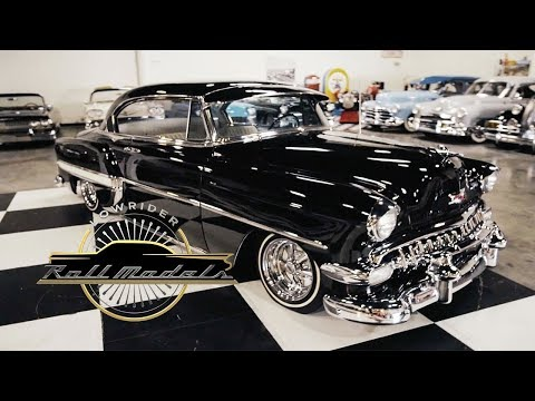 Albert Gutierrez & His 1954 Chevrolet Bel Air - Lowrider Rol