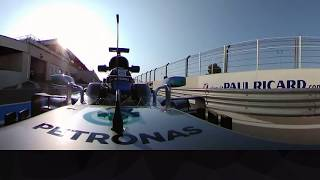 Onboard With Bottas At Paul Ricard (360 Video)   French Grand Prix
