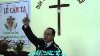 Mục sư Lê Minh Đức giảng LỄ CUNG HIẾN NHÀ NGUYỆN (Ph.2) 12/2014 - GH LUCA - LIÊN ĐOÀN TRUYỀN GIÁO PÂ