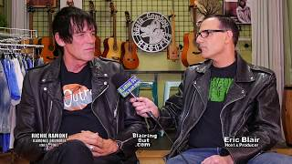 Richie Ramone & Eric Blair Talk Ramones & New Book 2018