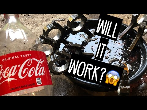 How To Remove Carbon From Pistons (Using Coke)