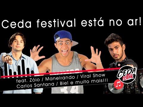 Ceda Festival ft Zoio Maneirando Carlos Santana Biel Intro VEDA AL