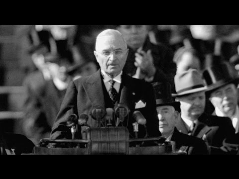 1949 Inauguration Speech of Harry Truman (Full)