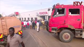 Toyota showroom gutted by fire