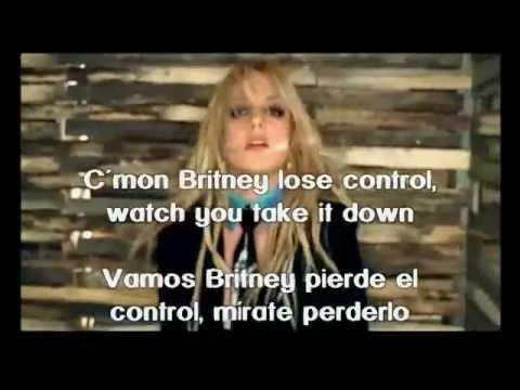 Britney Spears Me Against The Music subtitulos español ingles