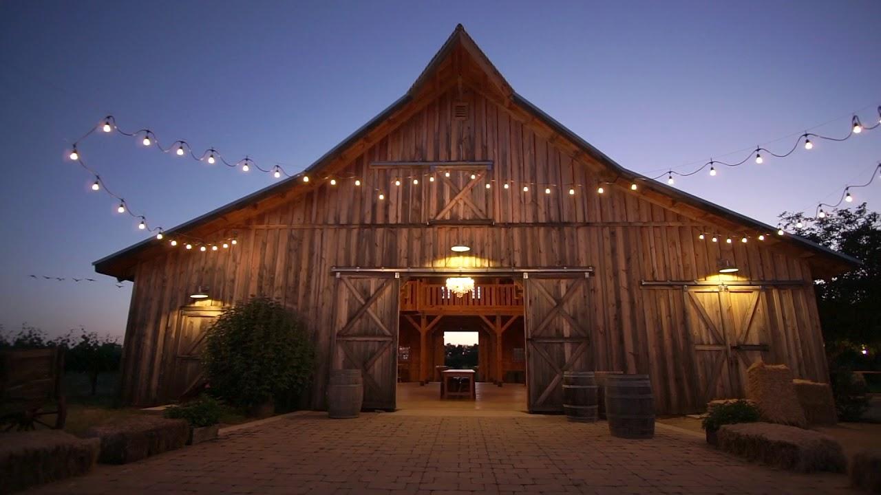 California Vineyard Party Barn Youtube