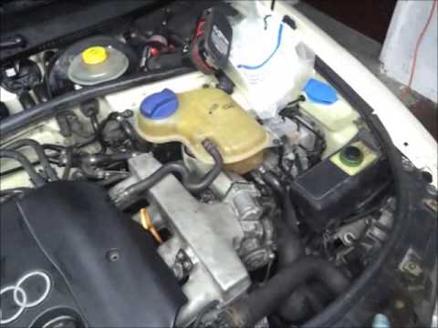 hqdefault cleaning heater core and bleeding 98 audi a4 b5 aeb 1 8t quattro