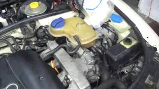 cleaning heater core and bleeding 98 audi a4 b5 aeb 1 8t quattro