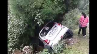 Car Accident on Lava to Loleygaon Road of North Bengal