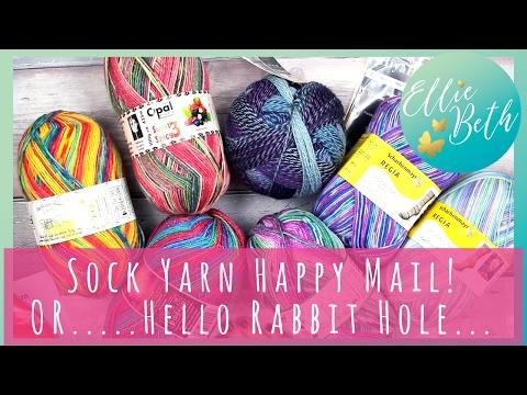 Sock Yarn Happy Mail - Opal, Regia, Zuaberball....