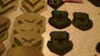 some us navy / army badges militaria