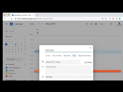 Как пользоваться Google Calendar / Гугл Календарь / Гугл Задачи