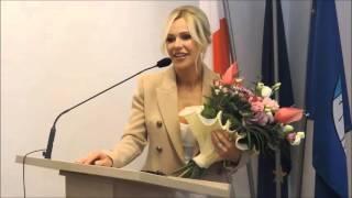 Doda odbiera medal za zasługi dla Ciechanowa (całe przemówienie)