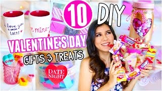 10 Diy Valentine's Day Gifts & Treats You Need To Try!! 2017