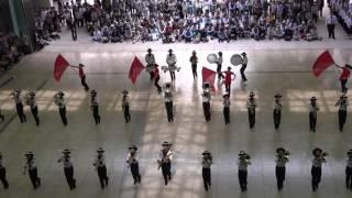 さわやかちば県民プラザで行われた野田市立第一中学校吹奏楽部によるフ...