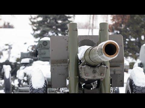 Ukrainian forces shelling