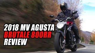 2018 MV Agusta Brutale 800 RR Review