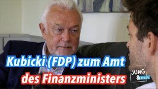 Nach Schäublexit: Wolfgang Kubicki (FDP) zum Amt des Bundesfinanzministers