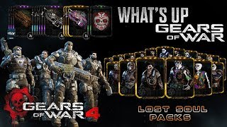 Gears of War 4 l What´s up Octubre lEventos l Serie 3 Drop Escuadrón Delta l Pack Lost Soul l 1080p