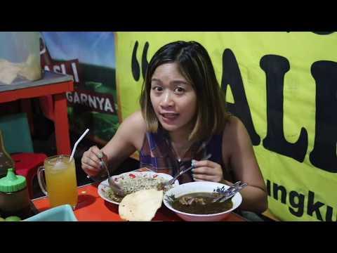 Dagingnya Kenyol - Kenyol ....2 Kuliner Malam Surabaya Non Stop Pengunjung #babatmadura #rawon
