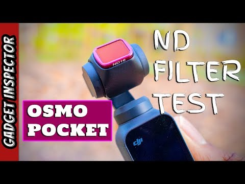 DJI Osmo Pocket ND Filter Test [4K] This Is How To Get The BEST Footage
