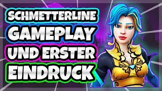 Gameplay with the new Fortnite Skin SCHMETTERLINE and my first impression 🔥 | NULLPROBLAMA