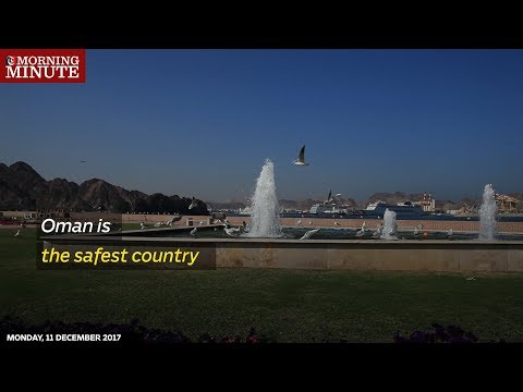 Oman is the safest country