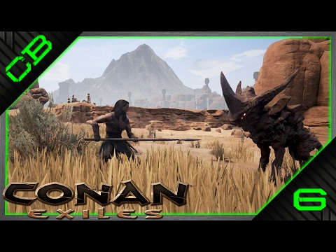 Conan Exiles Gameplay - The Quest For Brimstone - #6