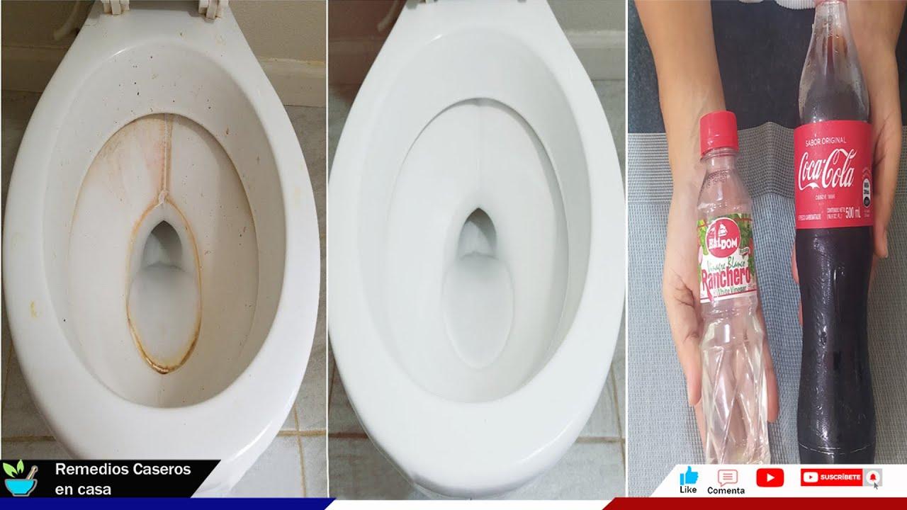 Limpia tu Inodoro quita el sarro y la línea amarilla facilísimo