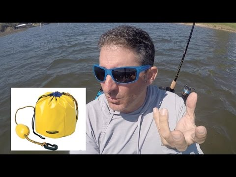 ANCHOR BAGS? DO THEY WORK For Kayak Fishing