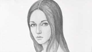 Уроки рисования. Как нарисовать ЛИЦО ЧЕЛОВЕКА карандашом. Часть 2(Скачайте видео урок